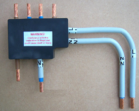 Electric Meter Security Block 25mm Double Connection Block